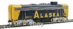 Spur H0 Diesellokset F7 AB Alaska Railroad mit DCC + Sound - 40709 NEU