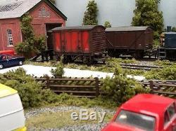 Stanton Yard Model Railway Layout with Legs, 6.5 Foot x 28, OO Gauge, DC or DCC