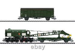 Trix H0 23457 Dampfkran Bauart 058 (Ardelt) der DB DCC / mfx / Sound NEU + OVP