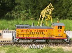 Union Pacific #96 EMD SW10 yard switcher DC/DCC, sound, lights, newly done