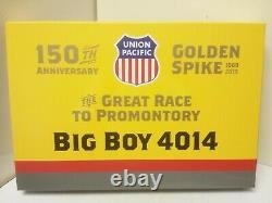 Union Pacific Railroad Big Boy 4014 Athearn G04014 DCC Tsunami2 Sound HO
